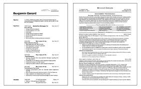 Financial Management Resume Example