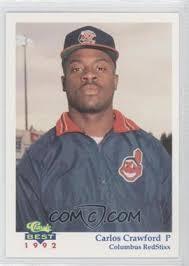 1992 Classic Best Columbus RedStixx - [Base] #6 - Carlos Crawford