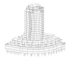 architecture building drawing. The Erickson Building Architecture Drawing