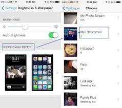 screen background image handy living: use a panorama as your lock screen wallpaper or both in ios  beta ios tips