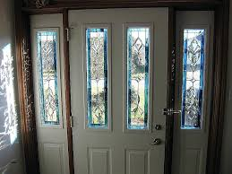 leaded glass front doors stained glass exterior doors for