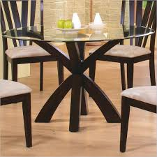 glass top pedestal dining table ideas table design for awesome house round glass top dining table metal base prepare