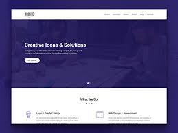 Simple Website Template Delectable Orchid Free HTML28 Business Simple Portfolio Website Template
