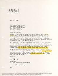 1989 the st paul companies letter regarding job seeking skills 16 1989 the st paul letter