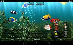 aquarium live wallpaper android apps