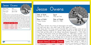 jesse owens essay c jesse owens for at mystic stamp company