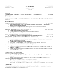 Beautiful Academic Resume Template | Wing Scuisine