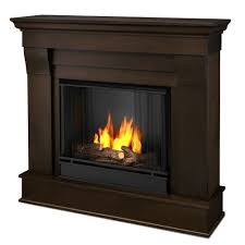image of ventless gas fireplace