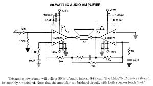 bridged amplifier diagram bridged image wiring diagram tda2052 bridge amplifier circuit car wiring schematic diagram on bridged amplifier diagram