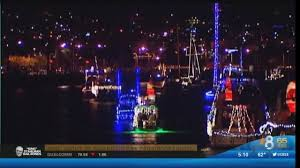 San Diego Bay Parade Of Lights New First Night Of San Diego Bay Parade Of Lights CBS News 60 San