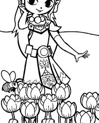 Zelda Coloring Pages Coloring Pages 1 Princess Zelda Coloring Pages