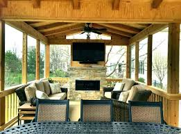 screened in porch with fireplace back porch fireplace brilliant porch ideas for screened porches gas fireplace screened in porch with fireplace