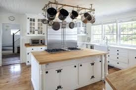 white country kitchen cabinets.  Kitchen White Country Kitchen With Glass Panel Cabinets Maple  Wood And Island Built In Ideas Throughout Y
