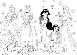 Disegni Di Principesse Disney Da Colorare Coloratutto Website