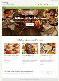 Recipe Page Layout Yumblog Theme Review Upthemes Is It Good