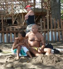 Aguanomics Old guys and young girls in Philippines