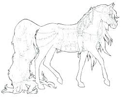 Horses Coloring Pages Printable Trustbanksurinamecom