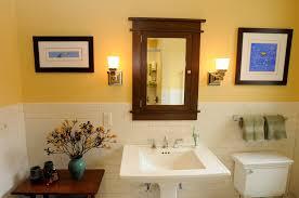 Craftsman Medicine Cabinet Architect Fred M Fargotstein Craftsman Bathroom Renovation