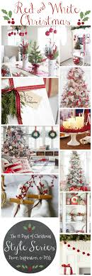 Classic Red U0026 White Christmas Style Series  Beautiful Nice And 12 Days Of Christmas Country Style