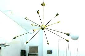 changing chandelier