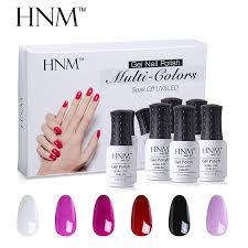 hnm set uv gel nail polish kit manicure diy nail art gelpolish box 10 series 8ml semi permanent nail gel polish sets nail art stencils nail art for kids