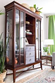 Living Room China Cabinet Colorful Global Eclectic Living Room Casa Watkins Living