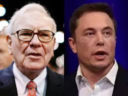 Warren Buffett Says Tesla Cant Sell Insurance Elon Musk Hits Back