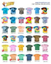 Tie Dye Color Chart Pin On Tie Dye