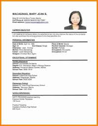 Deceptively simple, but with a real touch of flair in the way it makes use of fonts for a cv. 30 For Curriculum Vitae Format Samples Resume Format