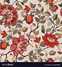 Floral Pattern Wallpaper Interesting Decorating