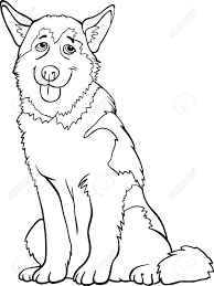 Husky Dog Coloring Pages Futuramame