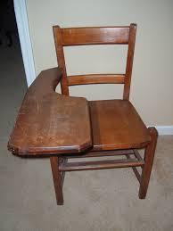 vintage school desk chair