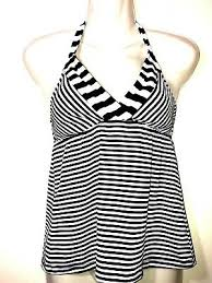 Mossimo Target Swimsuit Tankini Top Womens S Small Halter