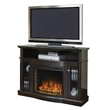 pleasant hearth elliott 47 in media electric fireplace tv stand in merlot
