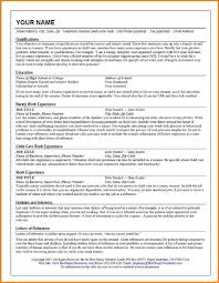 Bad Resume Example Examples Of Resumes Free Download 10 Tem Sevte