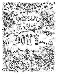 Coloring Inspirational Quotes Coloring Pages Awesome Photography