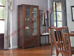 solid wooden with glass door sideboards for wine cabinet in dining room furniture