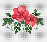 Cross Stitch Flower Patterns Gorgeous Flowers Cross Stitch