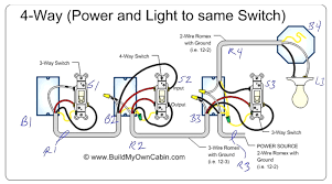 4 way switch wiring diagram multiple lights how wire and four within how to wire a four way light switch diagram 4 way switch wiring diagram multiple lights how wire and four within three