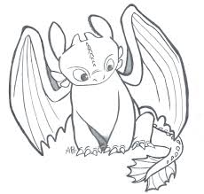 I Drew This Sketch Of Toothless From How To Train Your Dragon