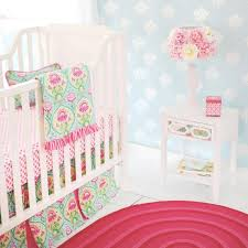 trendy aqua pink fl layla rose baby bedding set jack and fl baby