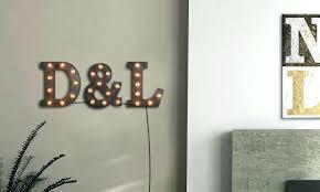 light up wall decor letter wall art light up letters wall decor awesome marquee letter wall
