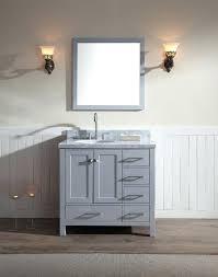 42 single sink bathroom vanity single sink vanity set in grey bayhill 42 single sink bathroom