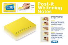 Watch Post It Notes Oral B Direct Advert By Publicis Whitening Post It Notes Ads Of
