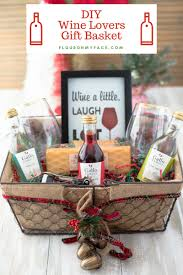 awesome how to make a wine gift basket