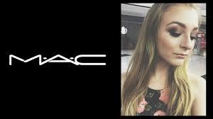 getting my makeup done at mac