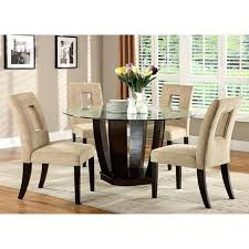 espresso round dining table west palm i espresso glass top round dining table set espresso dining