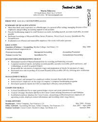7 Summary Of Qualifications Resume Examples Paige Sivierart