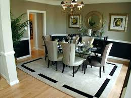 interior sizable rug under kitchen table area rugs for modern best dining room rug