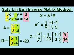 algebra solving linear equations